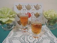 クリアなアイスティーににっこり - BEETON's Teapotのお茶会