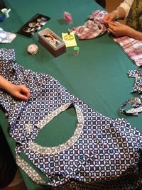 『ちくちく手縫いの会』臨時編ご報告 - MOTTAINAIクラフトあまた 京都たより