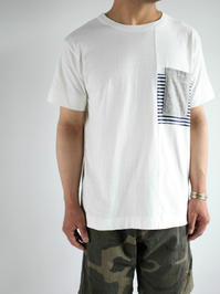 BETTER MID WEIGHT PANEL T-SHIRT - 『Bumpkins putting on airs』