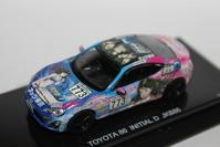 1/64 Kyosho TOYOTA Orginal (Hobby Route) JKB 86 INITIAL D - 1/87 SCHUCO & 1/64 KYOSHO ミニカーコレクション byまさーる