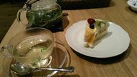 アフタヌーンティールーム 『オクラと枝豆のポークジンジャーソースパスタ』 - My favorite things