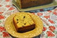 紅茶とラム漬けフルーツのパウンドケーキ - ひつじのパン日記