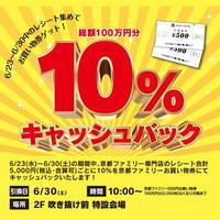 京ファミ キャッシュバック開催中です!メガネのノハラ京都ファミリー店 - メガネのノハラ 京都ファミリー店 staffblog@nohara