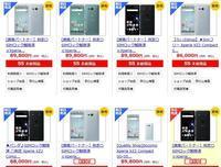 ドコモXperiaXZ2Compact SO-05Kの白ロム価格相場 SO-02Kほどの高騰はせず - 白ロム転売法