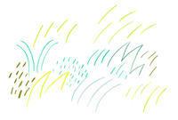 草ものびのび - イラストレーション ノート