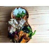 南瓜と鶏モモ酢煮込みBENTO - Feeling Cuisine.com