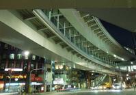 26夜の舎人線西日暮里駅高架橋 - 荒川区百景、再発見