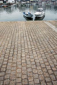 海辺の石畳 - 詩輝彩物語
