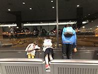 年末年始@子連れハワイ(7歳、3歳、0歳)飛行機編 - 2娘とハンドメイド
