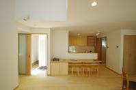 対面キッチンのフロント・テーブルカウンター - K+Y アトリエ一級建築士事務Blog