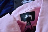 STUSSYからも半袖シャツ!!!! - DAKOTAのオーナー日記「ノリログ」