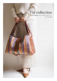 新作を中心とした「Via collection vol.1」カタログを公開いたします! - Via~オリジナル革バッグ&雑貨~   目に飛び込んだ瞬間【輝き出す瞳】    手にした瞬間【伝わる心地良さ∴思わずみんなに自慢したくなるトキメキの Via のBagたち。