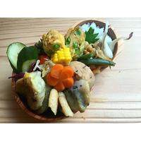 ジム7回目と、天ぷらコレクション餃子もあるのBENTO - Feeling Cuisine.com