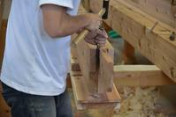 こども園園舎新築工事刻み見学会 - 無垢の木の家・古民家再生・新築、リフォーム 「ツキデ工務店」
