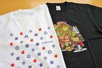新柄のTシャツ、2種類できました!! - 弘前感交劇場