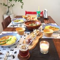 バターチキンカレーでおもてなしランチ♪ / クチポール使用レポ^^ - イロトリドリノ暮らし~シンプル×北欧モダン~