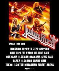 Judas Priestの来日公演が11月に決定? - 帰ってきた、モンクアル?