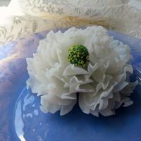 アンティークガラスの芍薬♪ - アンティークな小物たち ~My Precious Antiques~