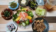 今日の夕飯&酒種の食パン&お弁当 - 手作りパン教室 Runrun  大阪 堺 天然酵母