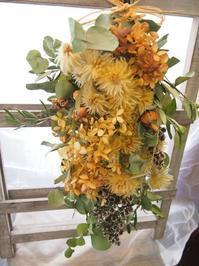 フラワールーシュお花の会☆7月レッスンのお知らせ【スワッグ・壁飾り】 - ルーシュの花仕事