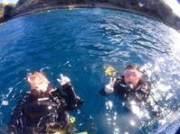 6月29日またまた突然、台風現る!! - 沖縄・恩納村のダイビング・青の洞窟体験ダイビング・スノーケルご紹介