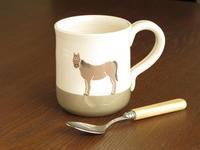 イギリス、カントリーサイドの馬のマグカップ。のんびりします - ブルーベルの森-ブログ-英国のハンドメイド陶器と雑貨の通販