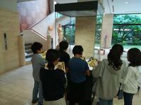 白金小学校の5年生が見学にいらっしゃいました - 松岡美術館 ブログ