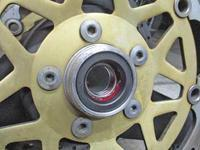 T代サン号 ZRX1100のFフォークO/Hとホイールベアリング交換♪(Part2) - バイクパーツ買取・販売&バイクバッテリーのフロントロウ!