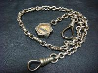 アンティーク 懐中時計用の鎖  - アンティーク(骨董) テンナイン