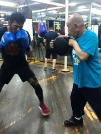 職人77歳トレ-ナ-の凄さ - 本多ボクシングジムのSEXYジャーマネ日記