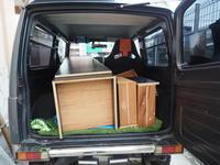 2018.05.13 木製ロッカー引越し - ジムニーとピカソ(カプチーノ、A4とスカルペル)で旅に出よう