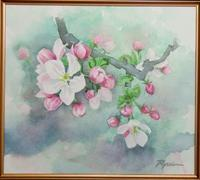 リンゴの花が咲いたよ - ryuuの手習い