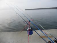 修理した竿 & リールの再入魂!?、と、2018.7.1、の、キスing・・・ - TAKE THE SHORT CAST!! ~ 投げ釣りが好き。。。