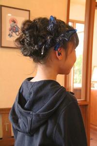 子供 ヘアアレンジ 髪型 浴衣 ドレス ピアノ発表会 結婚式 編み込み - 美容室エスポワール