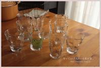 夏は、ガラスのコップ。 - かいじゅうたちのいる我が家。