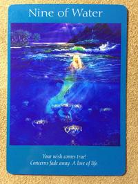 月曜のメッセージ:エンジェルタロットカード「Nine of Water 」大天使ミカエルからのメッセージ - アトリエkeiのスピリチュアルなシェアノート