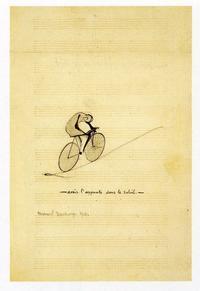 新発見!「デュシャンはサイクリストだった」その4jeu de mots - Duchamp du champ