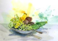 野菜と果物てんこ盛り - ryuuの手習い