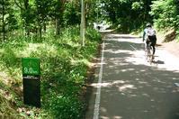 豊平川へ9kmのサイクリングロードと釘を撒くいたずら - 照片画廊