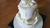 """ずっと飾って楽しめる""""とっても頑丈な""""シュガークラフトケーキなのです! - ずっと飾って楽しめる♪シュガークラフトケーキ作家 らぶのブログ"""