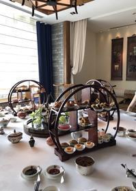 「飲茶アフタヌーンティーとそのルーツ」@ペニンシュラホテル - お茶をどうぞ♪