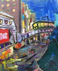 今回でブログ終了。江ノ電沿線シリーズ「帰路」「七里ガ浜が見えてくる」 - ギャラリーEtsu ブログ