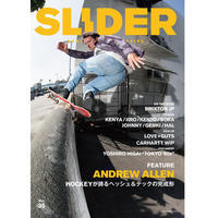SLIDER MAGAZINE - SLIDER vol.35(スライダー)ANDREW ALLEN - Growth skateboard elements