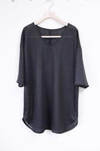 カットソーの着やすいチュニックTシャツ作りました! - 想いをかたちに・・・