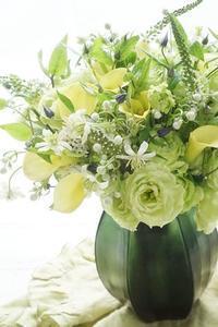 ほっこりとしました - お花に囲まれて
