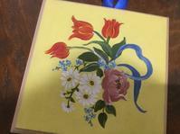 フォークアートレッスン - coco diary 山口県 お花と絵と楽しいティータイム