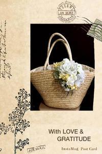 カゴのバッグ - Rico 花の教室