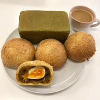 すいかパン 半熟卵のカレーパン パン単発 - delicious * happiness