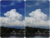 一寸した工夫でダイナミックな積乱雲が - スポック艦長のPhoto Diary