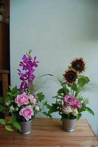6月の木花フラワーレッスンのご報告。 - 花と暮らす店 木花 Mocca